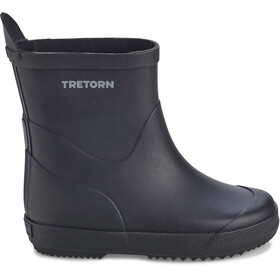 Tretorn Wings Monochrome Rubber Boots Kids Black
